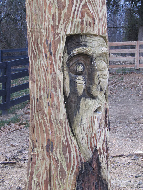 Rob peterson louisville kentucky chainsaw carvings