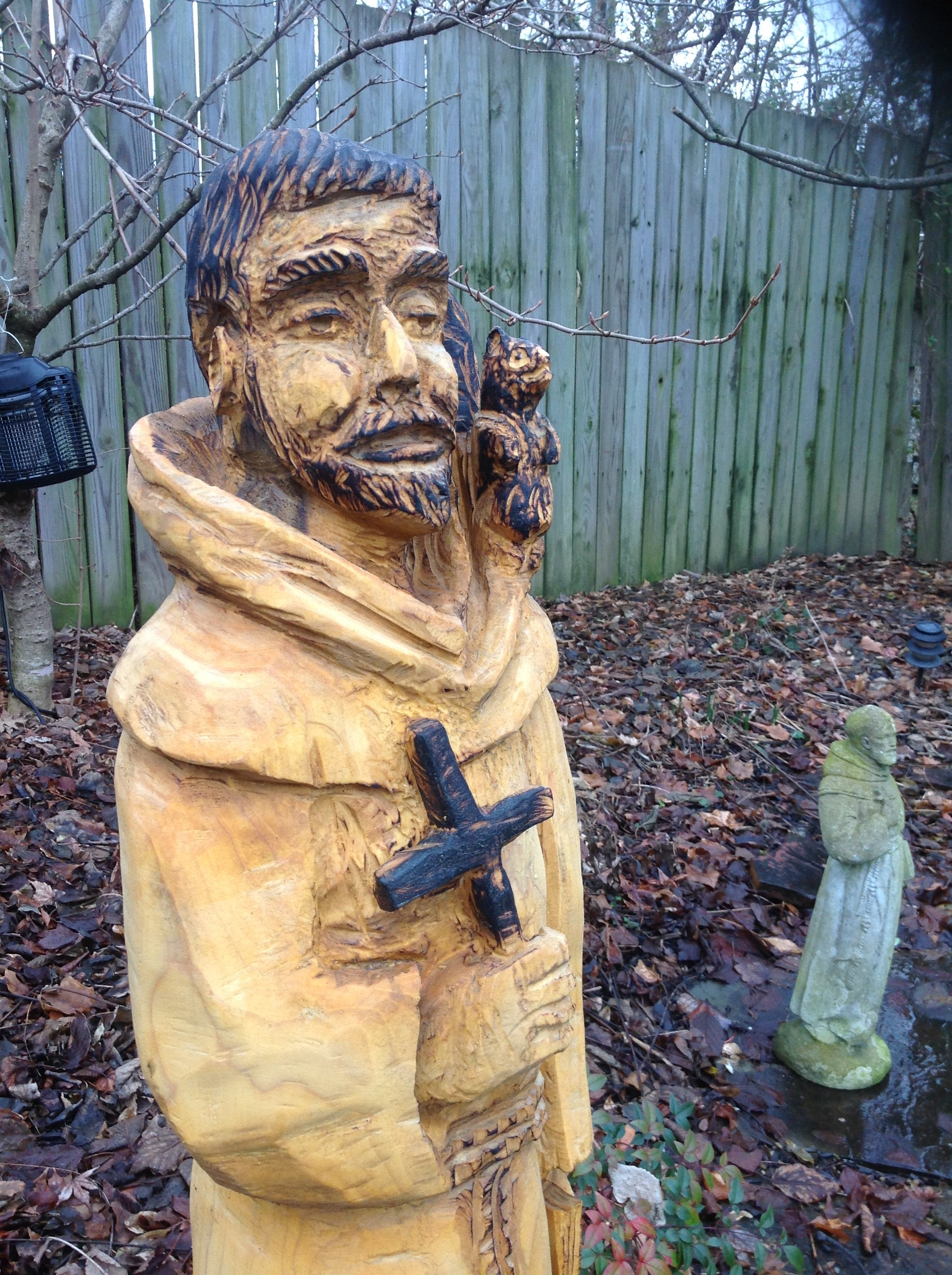 Chainsaw carving rob peterson