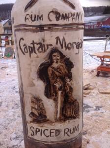 label captain morgan